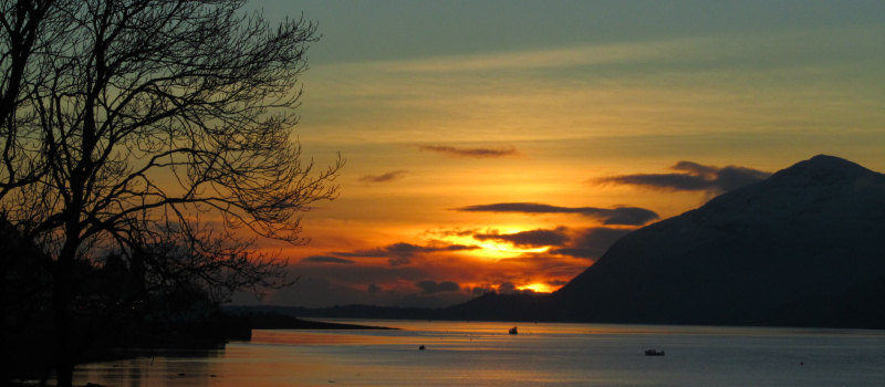 Sunset Ballachulish